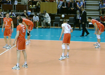 Nederlandse pro volleybalteam